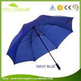 30 Inch Pure Color Single Layer Logo Custom Auto Open Windproof Golf Umbrella
