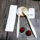 Biodegradable Disposable Tableware Cornstarch Cutlery Composable Take Away Cutlery