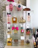 Wholesale Custom 4 Tier Acrylic Perfume Organizer display Rack