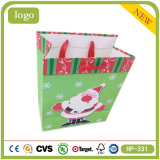 Father Christmas Lovely Baby Presents Coated Paper Shopping Bag