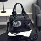 Fashion Colorful PU Leather Cheap Lady Tote Handbag (FTE-077)