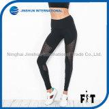 Sportswear Trousers Sexy Pattern Mesh Splicing Sports Tights Comfortable Lady Yoga Leggings