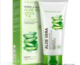 Aloe Vera Foam Facial Cleanser Cream Bioaqua Refresh Moisturing Face Cleaning Cream