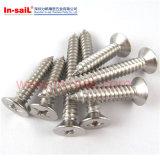ISO15483 Cross Recessed Raised Countersunk Head Drilling Screws