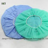 Disposable Medical Round Non Woven Bouffant Caps Kxt-Bc08