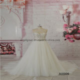 Sweet Heart Ivory Tulle Beading Lace Wedding Dress
