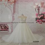 Sweet Heart Ivory Tulle Beading Lace Wedding Dress