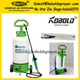 12L New Garden Pest Control Trolley Battery Knapsack Sprayer