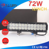 72W 12inch LED Work Light for Auto/Cars/Motor Vehicles