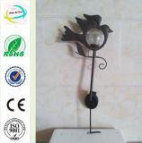 Bird Metal Iron Decoration Solar Light Garden Yard Stick