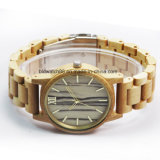 Hot Sale Marble Dial Wood Watch Wooden Watches Waterproof