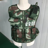 Light Weight Tactical Overt Soft Body Armor Bulletproof Vest Kevlar Material Nij Iiia T017