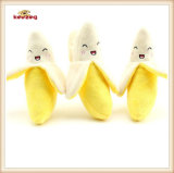 Banana Pattern Plush &Stuffed Squeaky Pet Toy for Dog