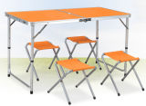 MDF Surface Outdoor Camping Table