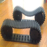 Robot Rubber Track Wide 118mm with Wheels (118*61*18)