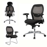 Modern Black Swivel Executive Mesh Computer Office Chair
