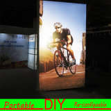 Portable DIY Modular Exhibition Display Wall LED Textile Light Box