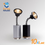 New Bullet Epin Warmwhite 10W Zoom Battery Powered Wireless LED Pinspot Light for Stage Wedding Decoration with Magnetic