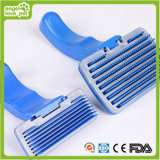 Blue Plastic Brush Pet Grooming Products