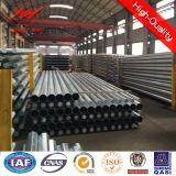 11m Galvanized Octagonal Steel Transmission Poles