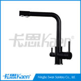 RO System 3 Ways Drinking Black Surface Water Tap