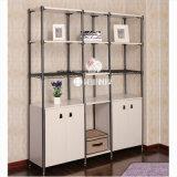 Modern Bedroom Storage Steel-Wooden Furniture