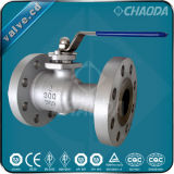 RF Flanged Ends One Piece Ball Valve