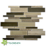 Mixed Colors Glass Crystal Mosaic Tile (TG-OWD-874)