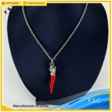 New Style Fancy Plant Chilli Shaped Stainless Steel Custom Pendant