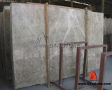 Light Emperador Marble Slab for Flooring Tile and Vanity Top