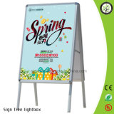 Outdoor Aluminum Frame Poster Stand Display Stand
