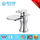 Brass Body Single Handle Basin Mixer with Finished Chromed (BM-B10046)