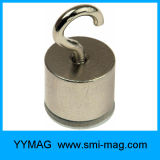 Strong Power Neodymium Monopole Pot Magnet Hook Magnetic Hook