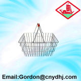 Hot Sale Wire Basket with Double Handle