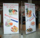 Deluxe Single Side Retractable Banner Display Stand in Cheap Price