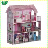High Quality Wooden New Model DIY Doll House