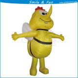 Top Quality Bee Mascot Inflatable Cartoon Costume