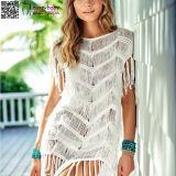 Women's Fashion Sleeveless Cover up Summer Crochet Beach Dress L38475