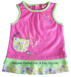 High Quality New Model Baby Girl Dress (BSK0839)
