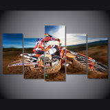 HD Printed Motocross Painting on Canvas Room Decoration Print Poster Picture Canvas Mc-069
