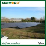 Solar System Panel Mounting Aluminum Brackets with Ground Screw