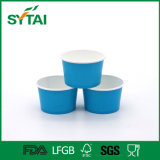 Custom Printing Disposable Ice Cream Paper Cups with Lids