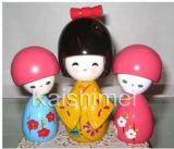 Japanese Kimonos Kokeshis Wooden Toys