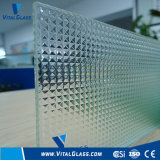 Clear Crystal Patterned Glass with CE