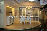 White Living Room Furniture Wine Cabinet with Glass Door (JG02)