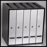 Fq-118 Five Sets of Mailbox, Group Postbox with Cold-Rolled Steel