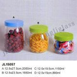 Glass Storage Jar with Plastic Cap