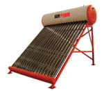 Integrated Direct-Solar Water Heater, Insulation with Polyurethane Foam, Simple/Compact Structure (SPR-470-58/1800)