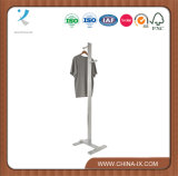 OEM Costumer Clothing Display Stand with Adjustable Hangrail