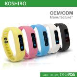 OLED Pedometer Bracelet Smart Wrist Watch